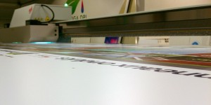 large format flatbed printing